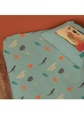 Jurassic World Fitted sheet Welcome 90 x 200 cm Cotton