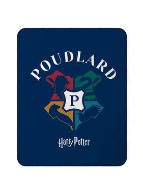 Harry Potter Fleece plaid Logo 110 x140 cm