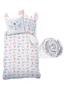 Matt & Rose Set Duvet cover + fitted sheet Miaou