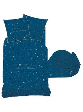 Matt & Rose Set Duvet cover + Fitted sheet Star Gaze 90x200cm