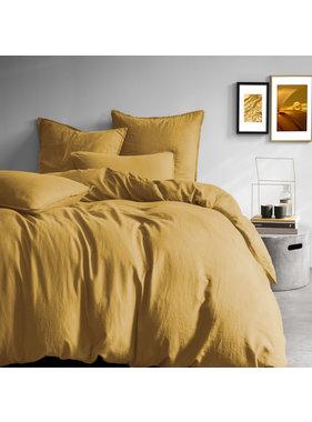Matt & Rose Duvet cover Saffron 260 x 240 + 50 x 70 Linen