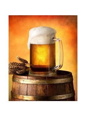 Bier Fleece blanket Beer mug 120 x 150 cm