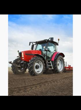 Traktor Fleece blanket Plow 120 x 150 cm
