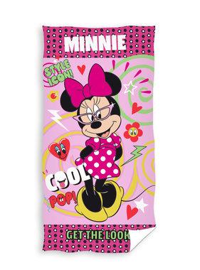 Disney Minnie Mouse Beach towel Style Icon 70 x 140 cm Cotton