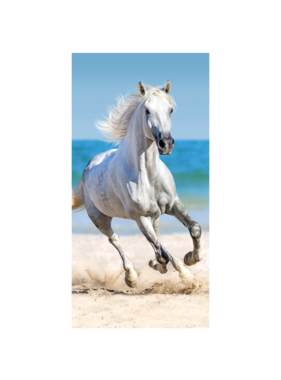 Animal Pictures Beach towel Horse 70 x 140 cm Cotton