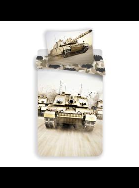 Tank Duvet cover Camouflage 140 x 200 Cotton