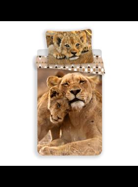 Animal Pictures Duvet cover Lion 140 x 200 cm Cotton