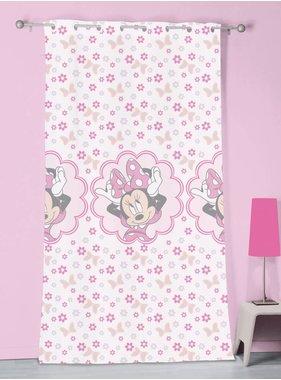 Disney Minnie Mouse Gordijnen Stylish Pink 100% Polyester 140x240cm