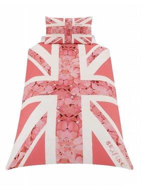 Union Jack Dekbedovertrek Rose