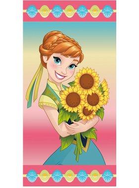 Disney Frozen Strandlaken Anna Sunflowers 70x140 cm