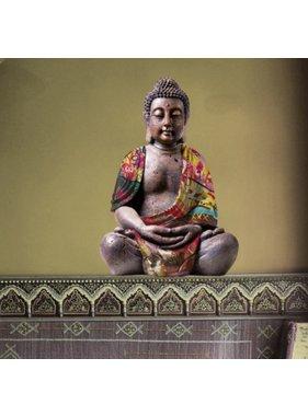 Budda Muursticker Reflective 70x50cm