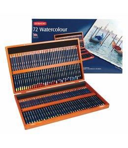 Derwent  Derwent Watercolor 72 crayons aquarelle dans une boîte en bois