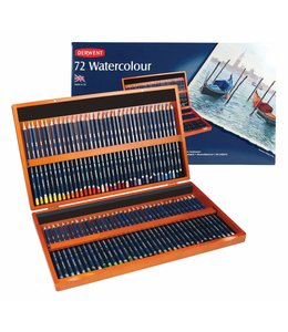 Derwent  Derwent Watercolor 72 watercolor pencils in wooden box