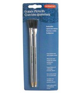 Derwent  Derwent eraser pencils and brush