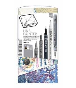 Derwent Graphik Derwent Graphik Line Painter (palette 4)