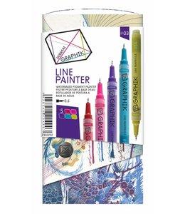 Derwent Graphik Derwent Graphik Line Painter (palette 3)