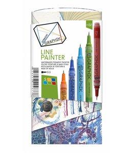 Derwent Graphik Derwent Graphik Line Painter (palette 2)