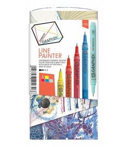 Derwent Graphik Derwent Graphik Line Painter (palette 1)