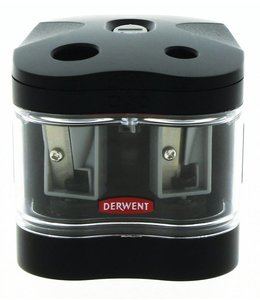 Derwent  Derwent Battery operated twin hole sharpener