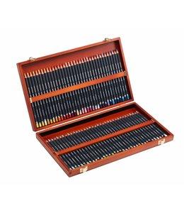 Derwent  Derwent Procolour 72 pencils in a wooden box