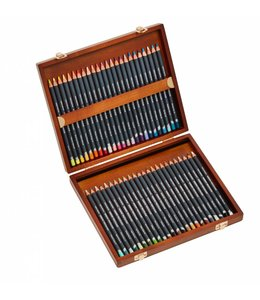 Derwent  Derwent Procolour Holzbox mit 48 Bleistiften