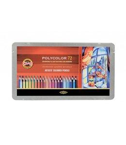 Koh I Noor POLYCOLOR Colored pencil 72 pencils