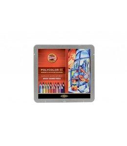 Koh I Noor POLYCOLOR Colored pencil 48 in tin