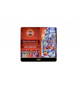 Koh I Noor POLYCOLOR Colored pencil 3824 24 pencils