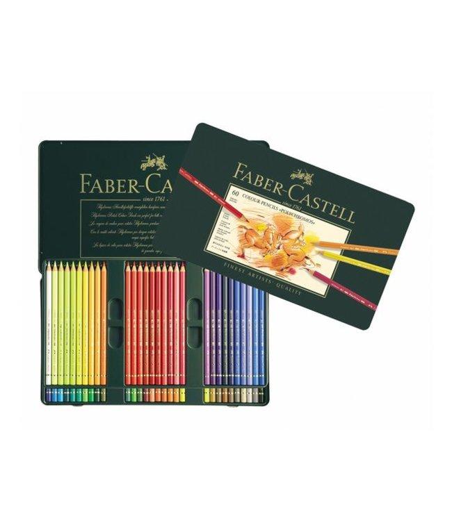 Faber Castell Faber Castell Polychromos kleurpotloden 60 stuks
