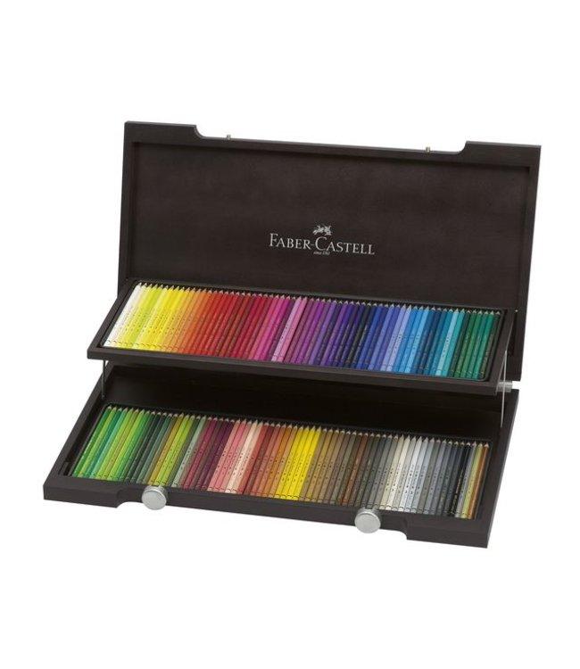Faber Castell Faber Castell Polychromos 120 kleurpotloden in houten kist