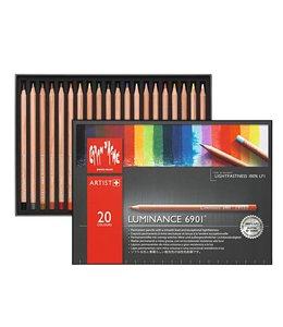 Caran d'Ache LUMINANCE 6901® - Assortiment de 20 couleurs