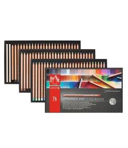 Caran d'Ache LUMINANCE 6901® - 76 surtido de colores