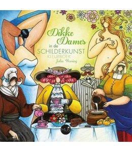 BBNC Dikke Dames in de schilderkunst kleurboek