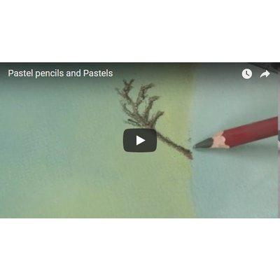 Pastel pencils and Pastels