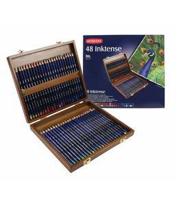 Derwent  Derwent Inktense 48 crayons dans une boîte en bois