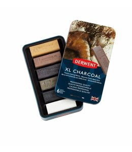 Derwent  Derwent XL Charcoal 6 in a tin