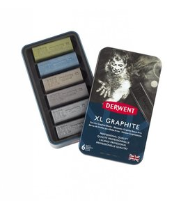 Derwent  Derwent XL Graphite 6 in een blik