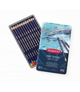 Derwent  Derwent Inktense 12 crayons aquarelle dans une boîte