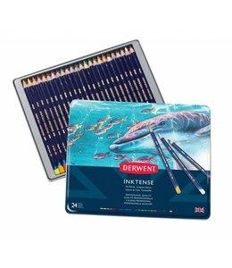 Derwent  Derwent Inktense 24 crayons aquarelle dans une boîte