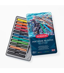 Derwent  Derwent Inktense Blocks 12 in a tin