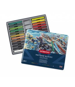 Derwent  Derwent Inktense Blocks 24 in a tin