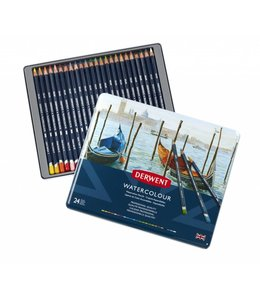 Derwent  Derwent Watercolor 24 water color pencils in tin