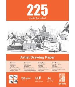Schut papier Schut Artist Drawing Paper A4 225 grams