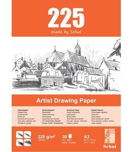Schut papier Schut Artist Drawing Paper A3 225 grams