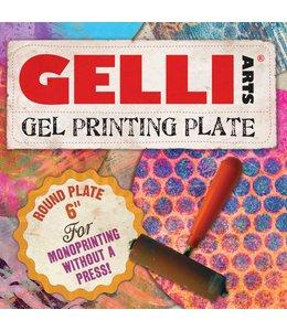 """Gelli Arts 6 """"Runde Gelli® Druckplatte"""
