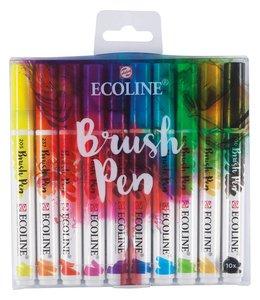 Talens Ecoline Brushpen Set 10 markers
