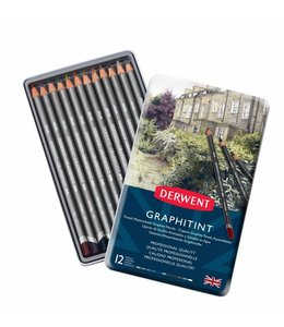 Derwent  Graphitint Pencils 12 Tin