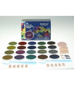 PanPastel PanPastel-Set mit 20 extra dunklen Farben