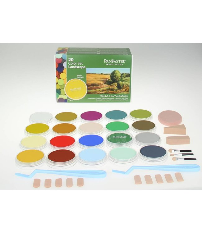PanPastel PanPastel-set 20 Landscape colours