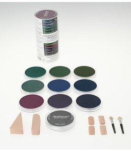 PanPastel PanPastel-set met 10 extra donkere kleuren COOL-kleuren